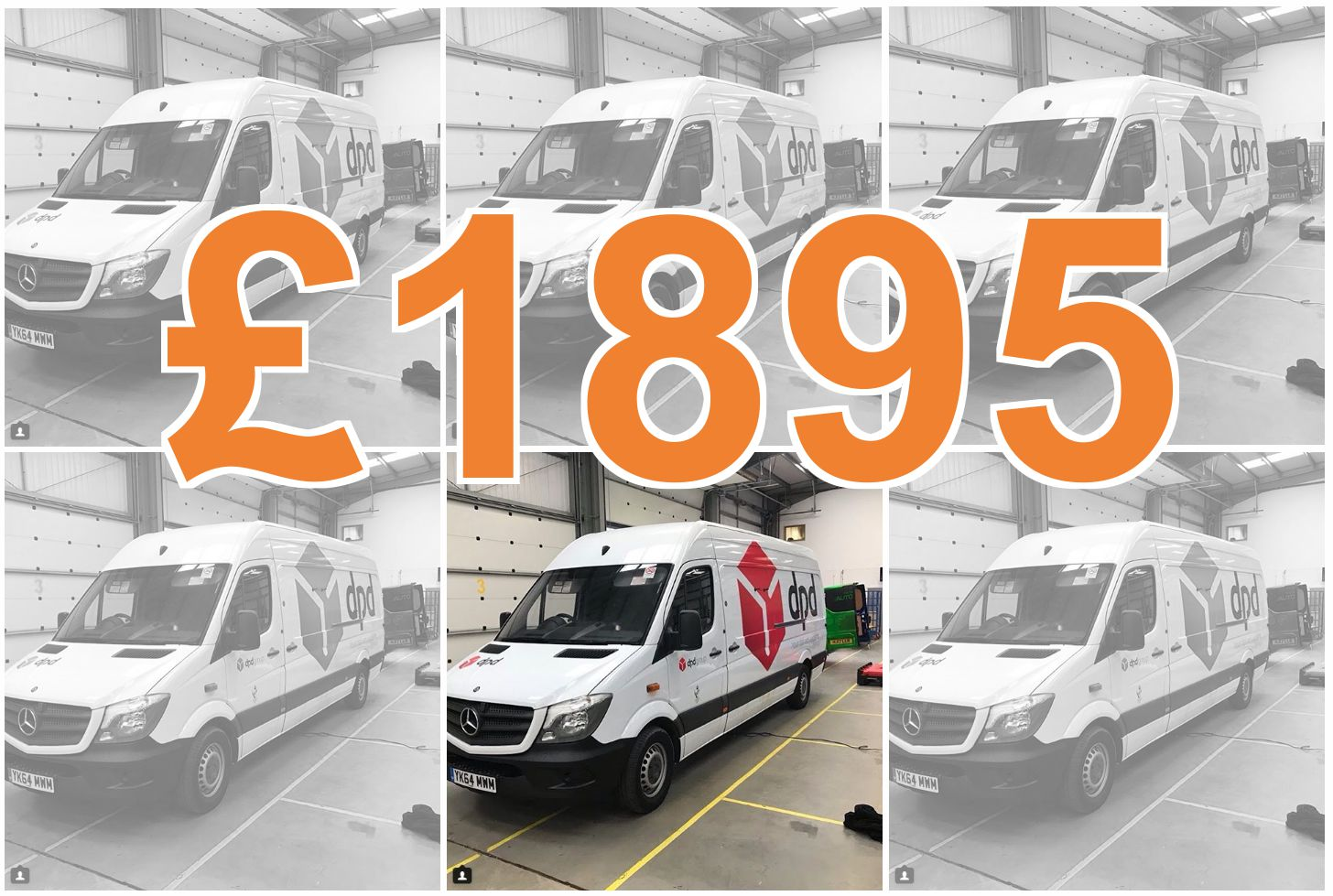 Our £1895 Transit Van Wrap Offer, is flying off the shelves!